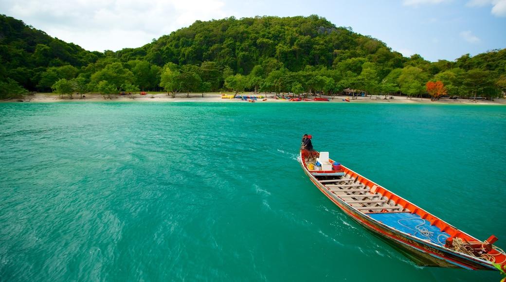 蘇梅島 呈现出 森林, 海灘 和 山水美景