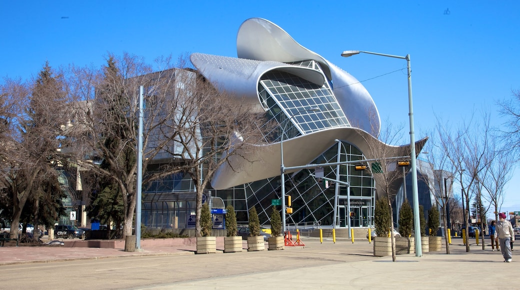Art Gallery of Alberta featuring art and modern architecture