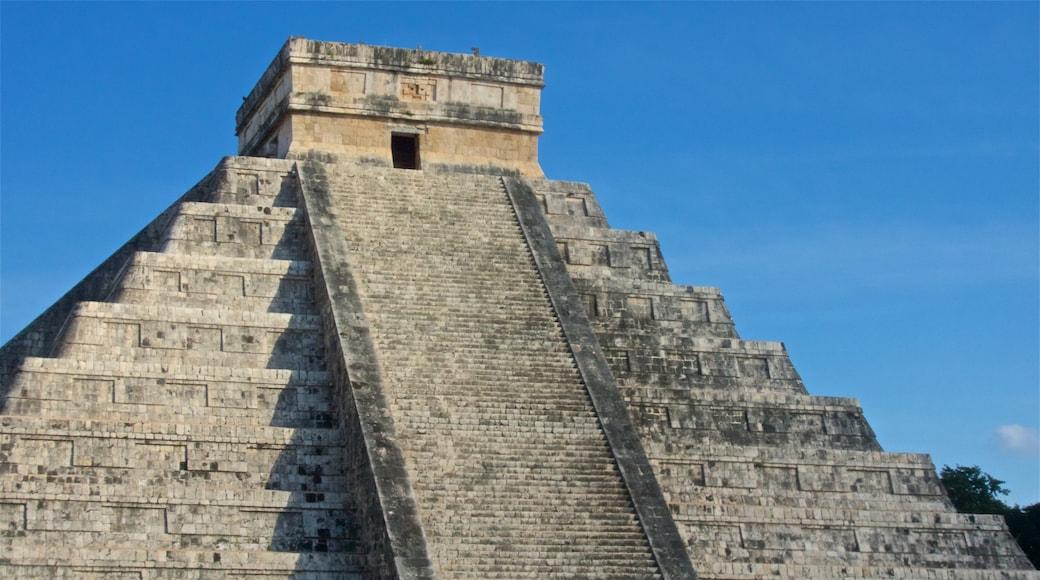 Chichén Itzá ofreciendo patrimonio de arquitectura
