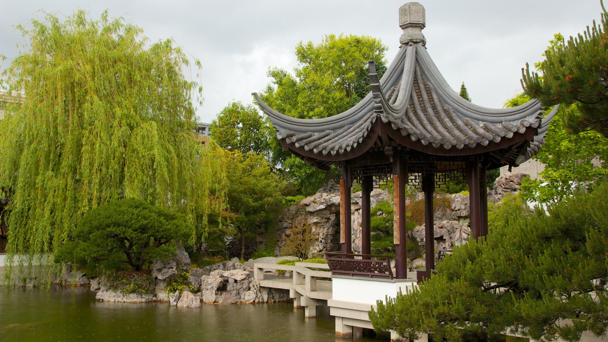 Lan Su Chinese Garden, Portland, Oregon, USA