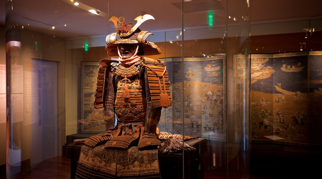 Trammell and Margaret Crow Collection of Asian Art featuring heritage elements and interior views
