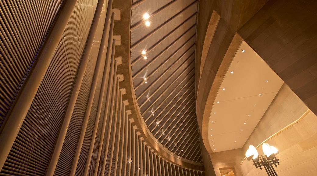 Morton H. Meyerson Symphony Center featuring interior views