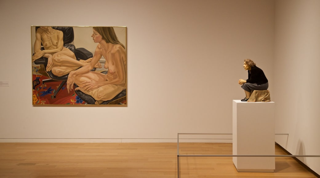 Modern Art Museum of Fort Worth featuring interior views and art