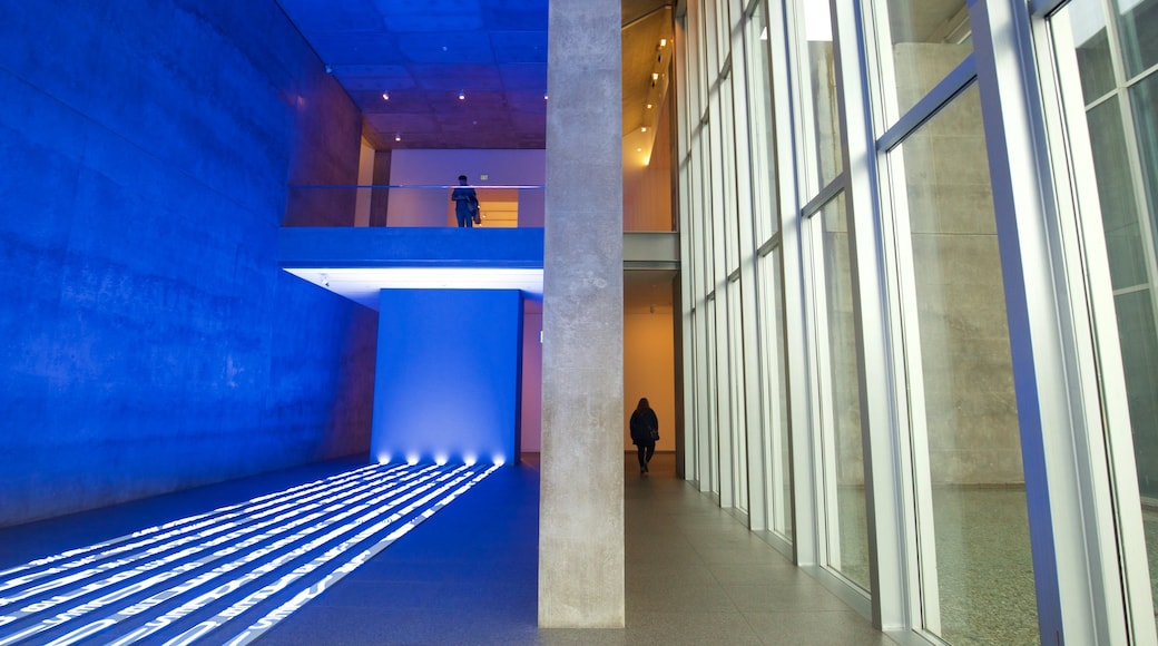Modern Art Museum of Fort Worth which includes interior views
