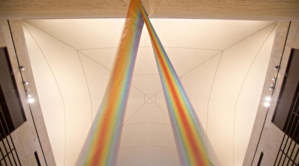 Amon Carter Museum showing interior views