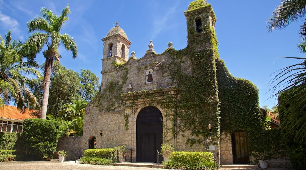 Plymouth Congregational Church som viser historisk arkitektur