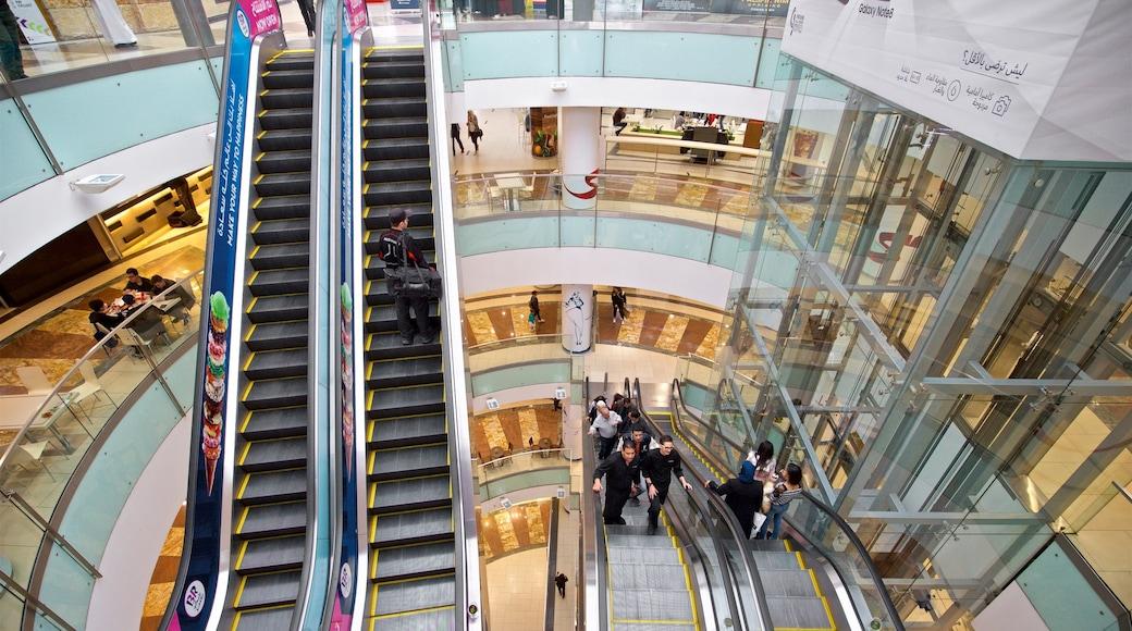 TAJ Mall showing shopping and interior views