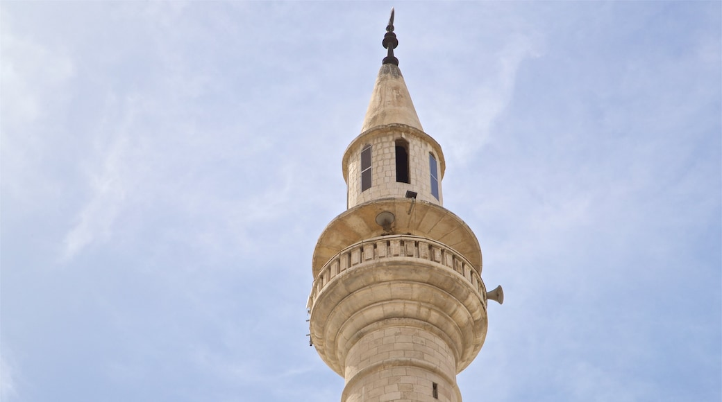 King Hussein Mosque which includes heritage elements