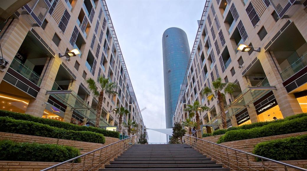 Al Abdali Mall featuring a high-rise building