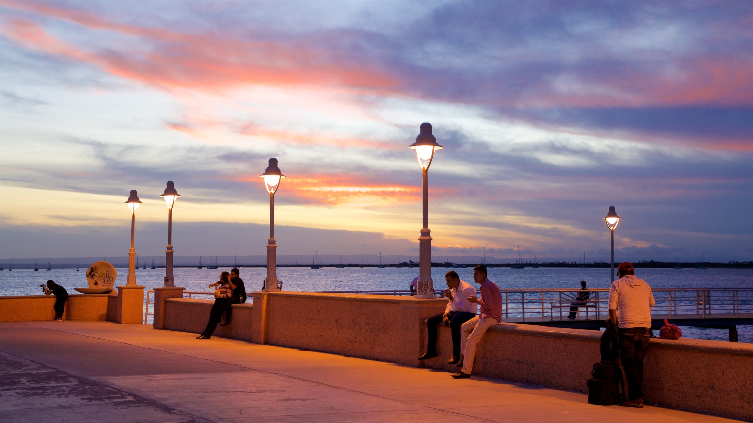 You can find out about the history of La Paz with a stop at Malecon La Paz. Wander the beautiful beaches and seaside in the area.