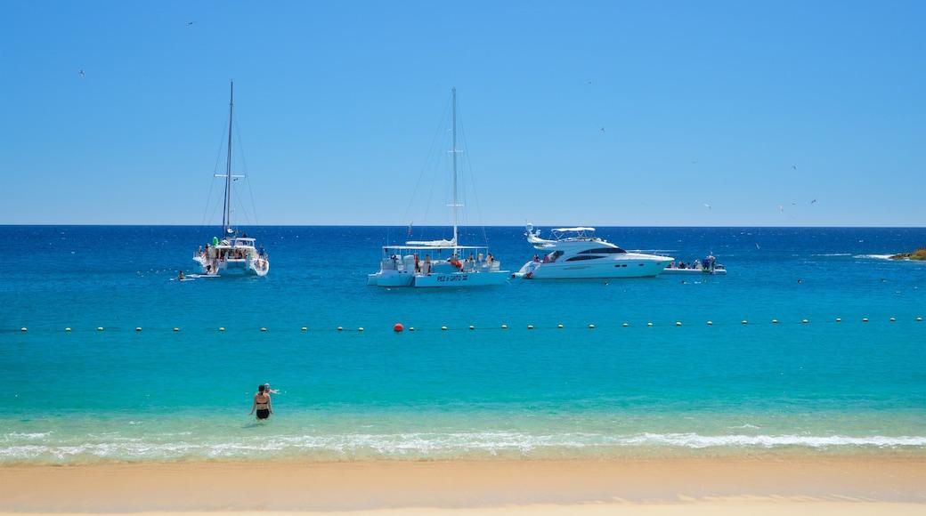 Santa Maria Beach which includes a beach and general coastal views