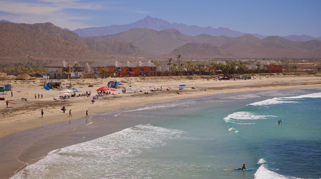 Los Cerritos Beach which includes general coastal views, a sandy beach and landscape views