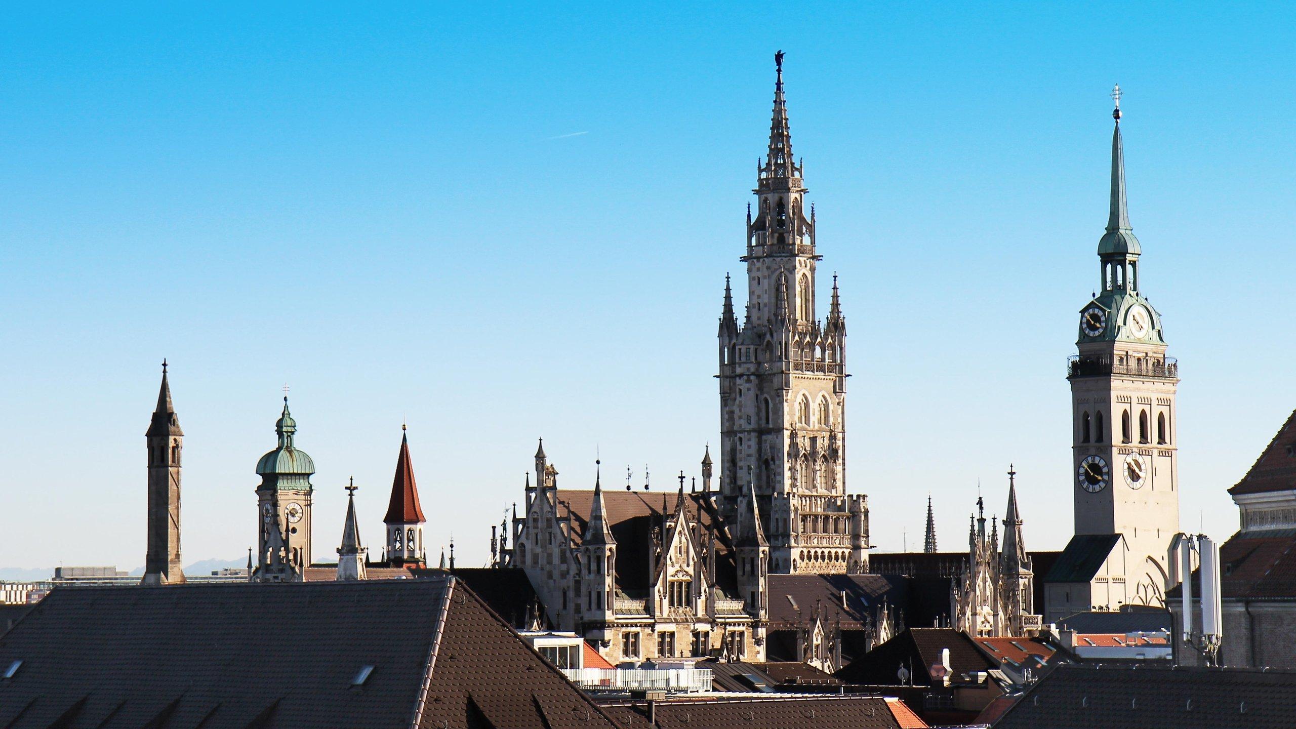 Town Hall of Marienplatz, Munich, Bavaria, Germany