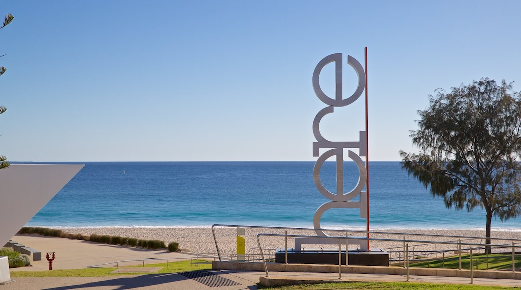 City Beach featuring general coastal views and outdoor art