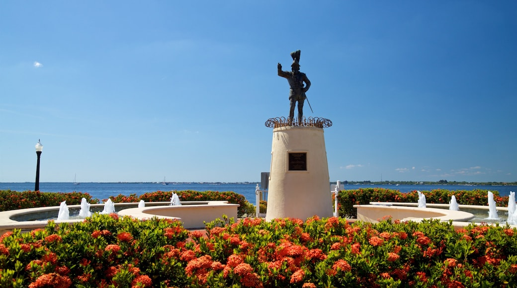 Punta Gorda featuring a park and flowers