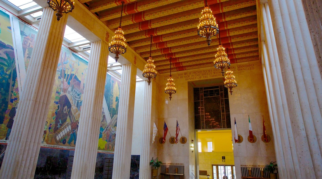 Hall of State featuring interior views