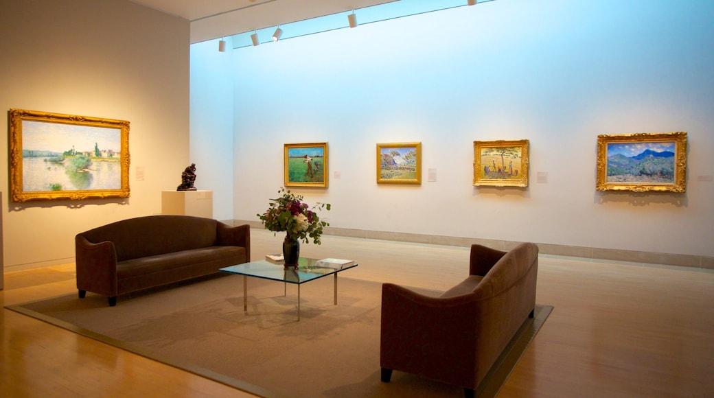 Dallas Museum of Art showing interior views
