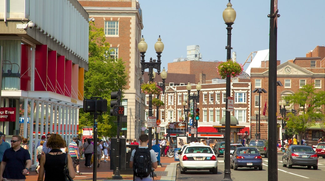 Cambridge montrant ville et scènes de rue