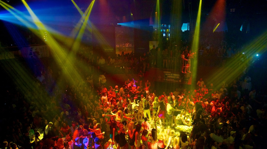 Mexico and Central America which includes music, nightlife and night scenes