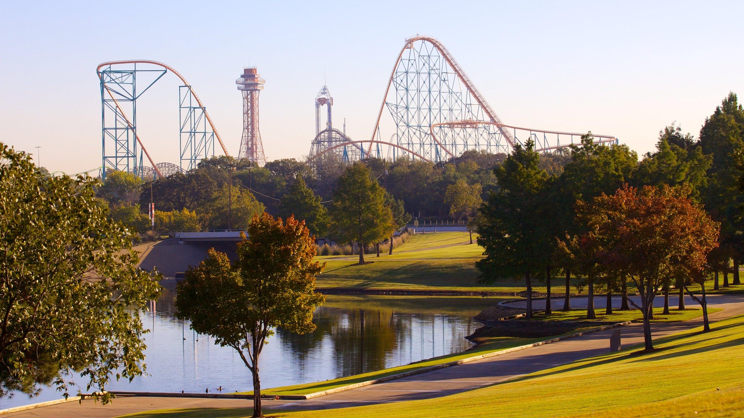 Dieser Themenpark lässt Ihr Adrenalin pulsieren – unter anderem auf der höchsten und schnellsten Achterbahn in Texas.