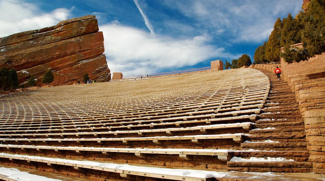 Red Rocks Amphitheatre das einen historische Architektur