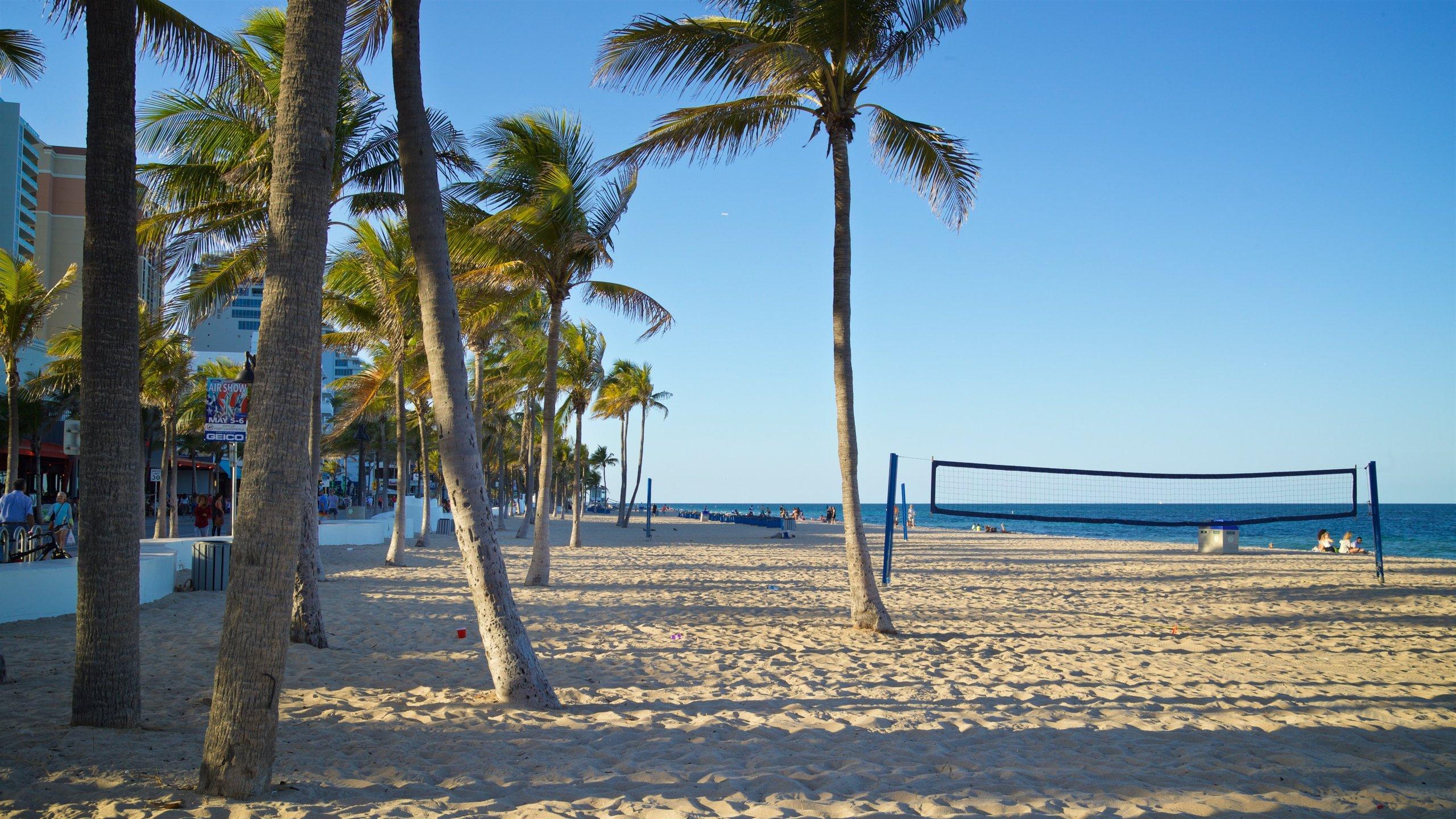 Las Olas Beach In Fort Lauderdale