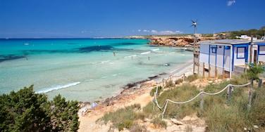 Cala Saona, Formentera, Balearic Islands, Spain