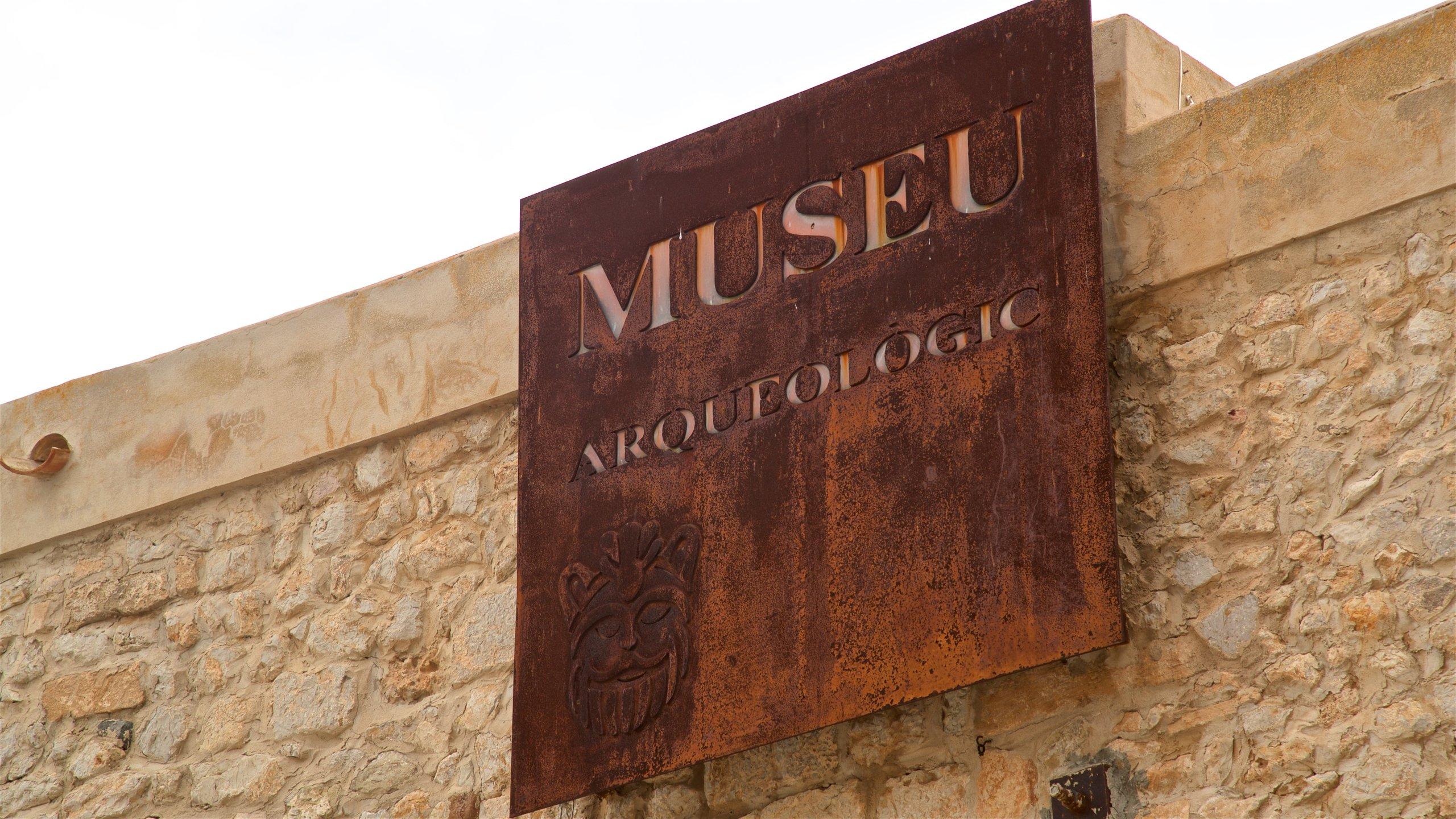 Archäologisches Museum von Ibiza, Ibiza-Stadt, Balearen, Spanien