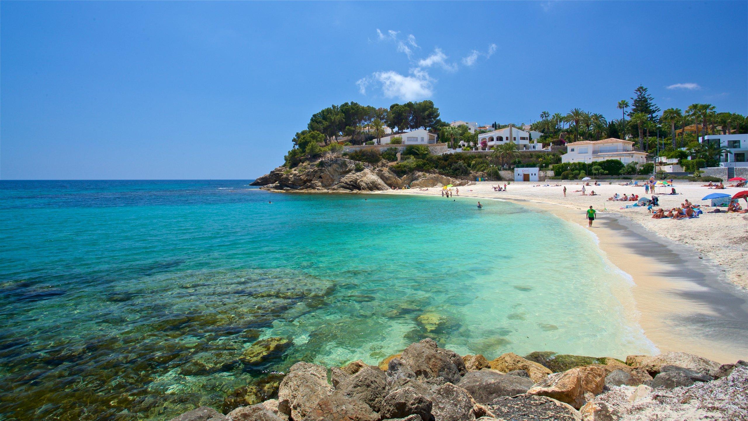 Küste von Benissa, Benissa, Valencianische Gemeinschaft, Spanien