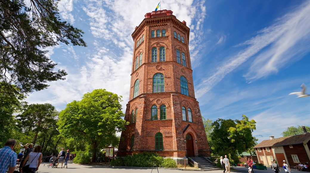 Skansen featuring heritage architecture