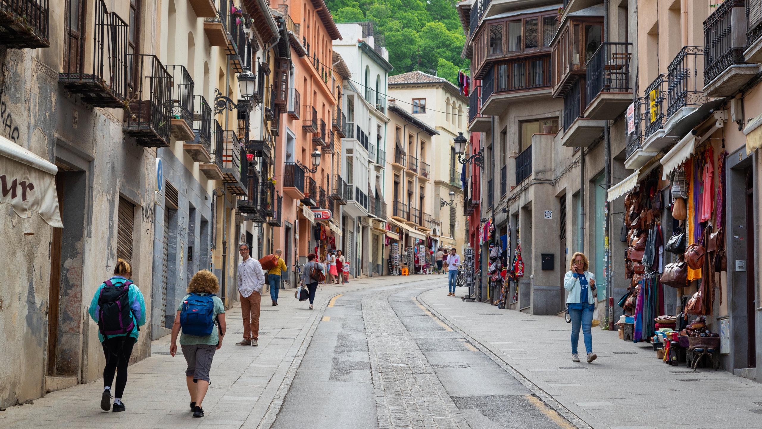 Realejo-San Matias, Granada, Andalusia, Spain
