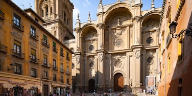 Granada Cathedral which includes a church or cathedral and heritage architecture