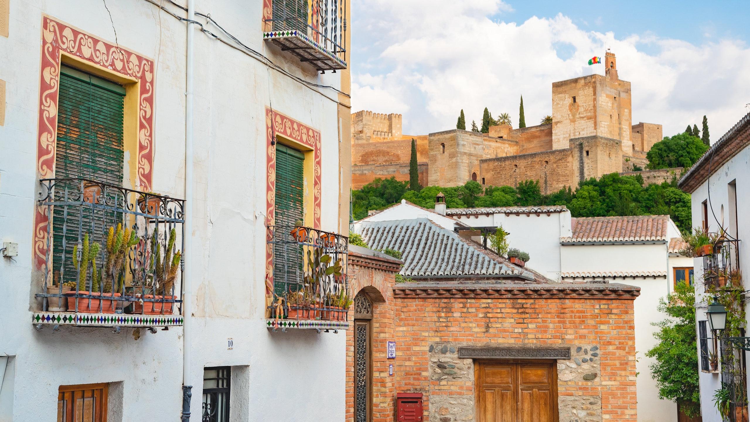 Albaicín, Granada, Andalucía, España