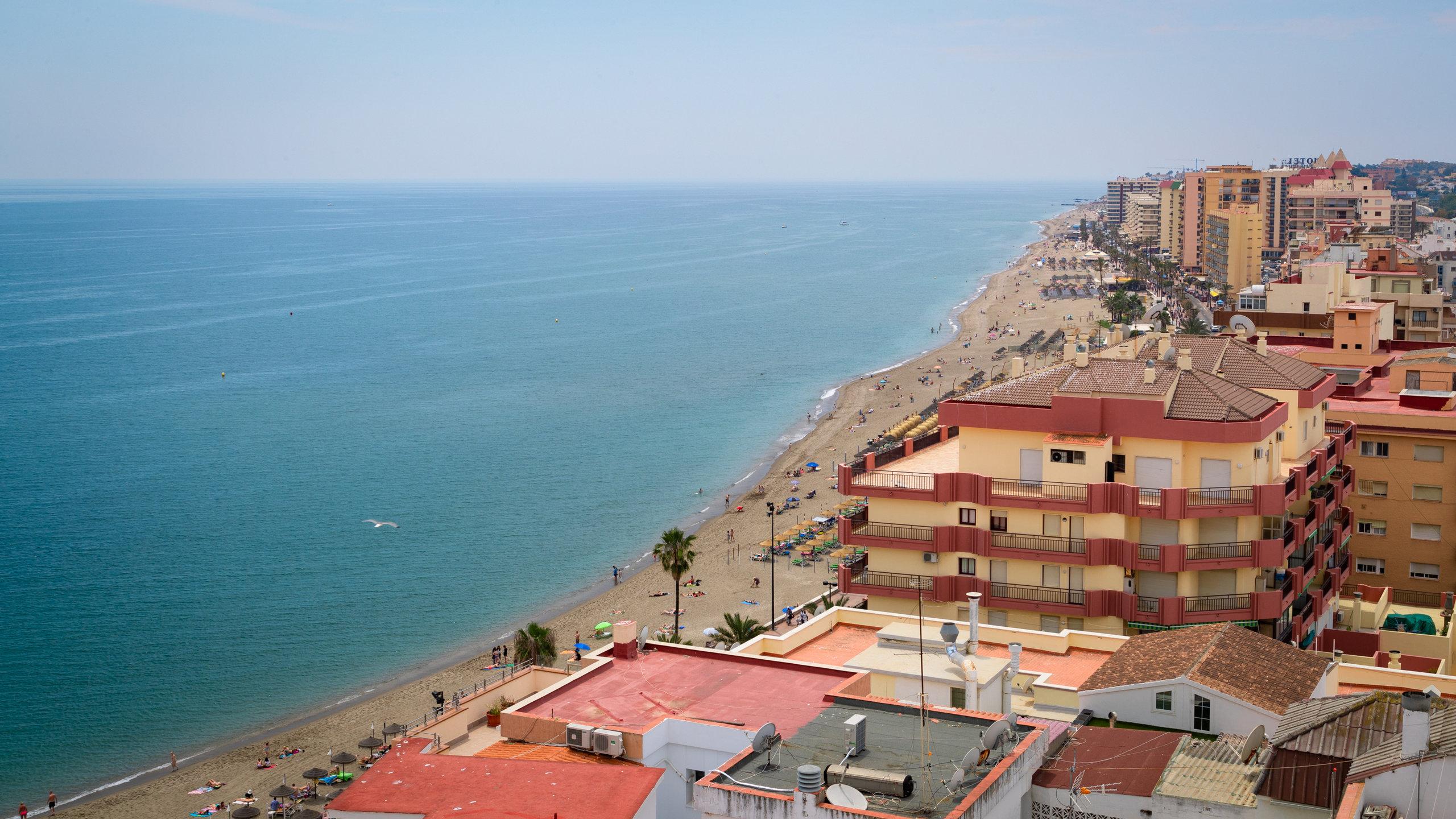 Playa de Fuengirola, Fuengirola, Andalucía, España