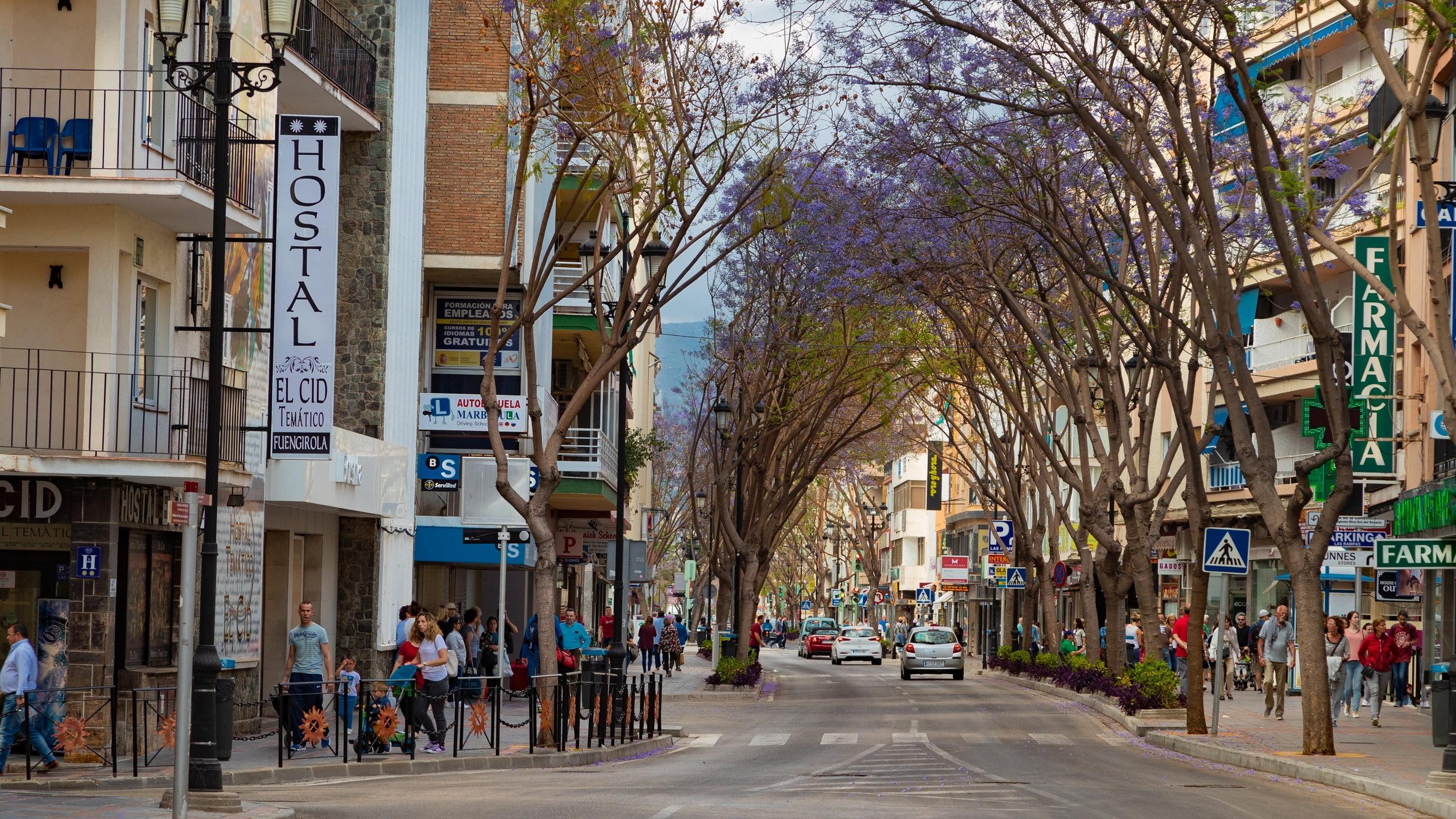 Fuengirola City Centre, Fuengirola, Andalusia, Spain