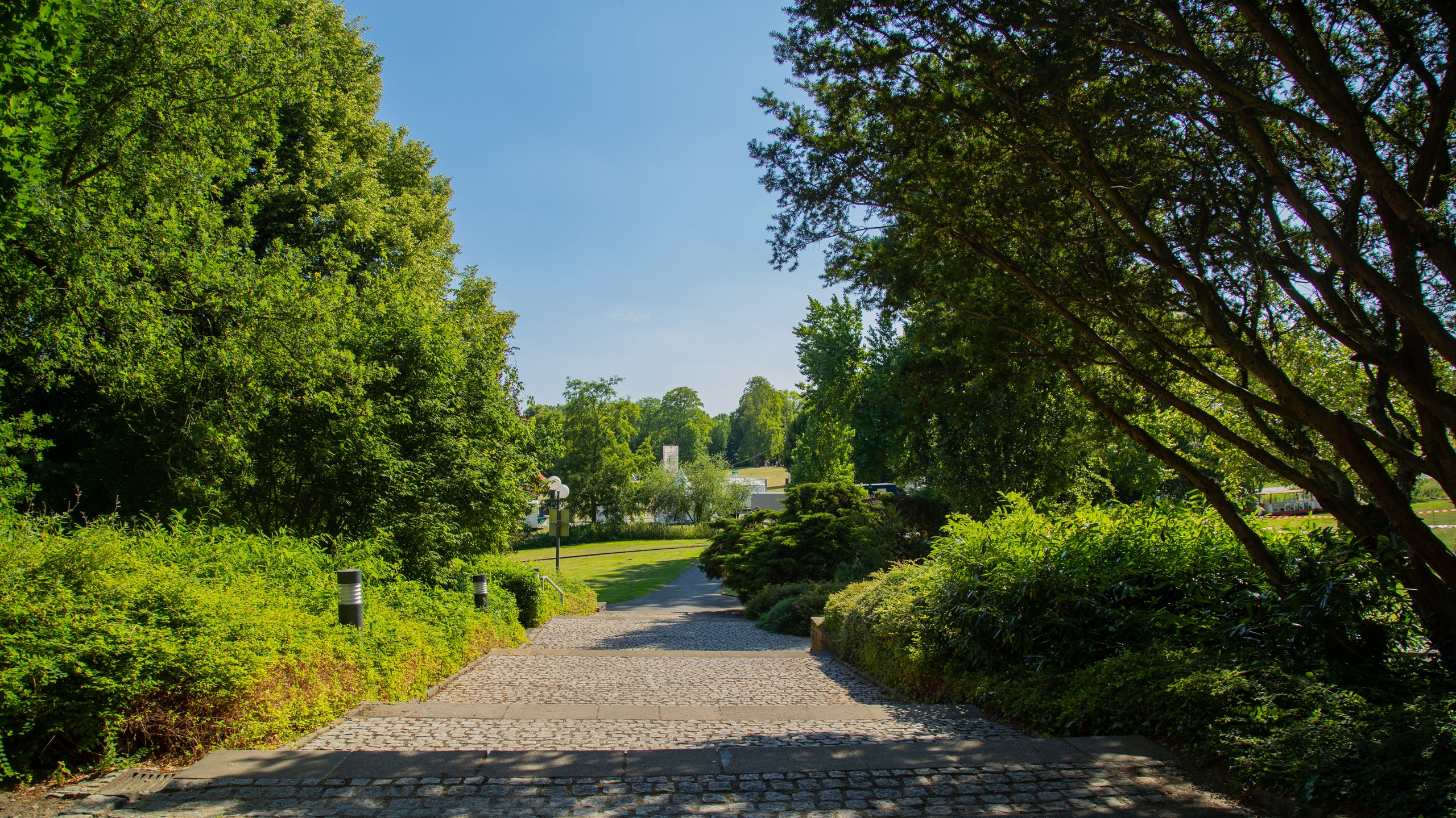 Parc Westfalenpark Dortmund, Dortmund, Rhénanie-du-Nord-Westphalie, Allemagne