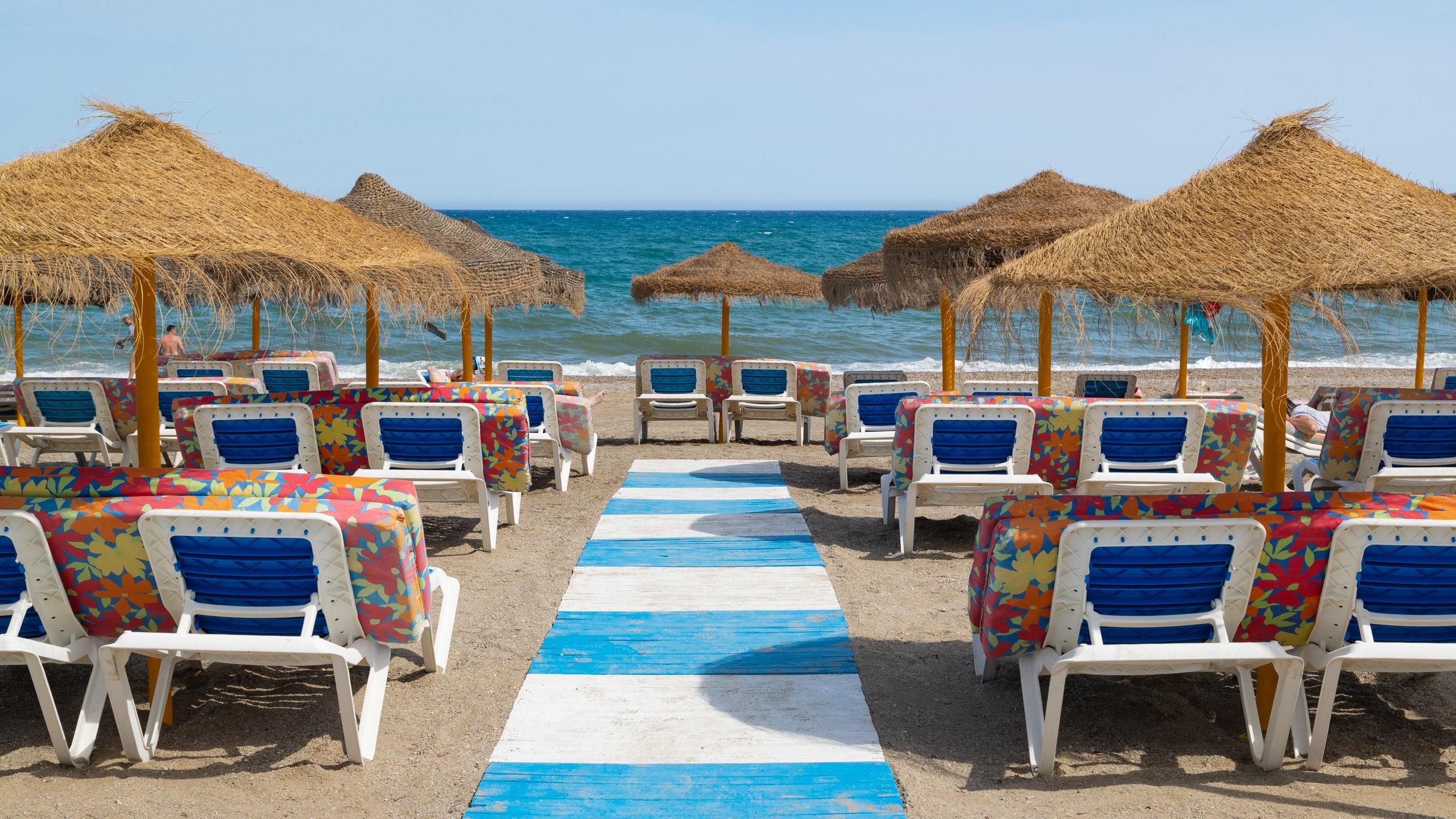Playa Serena, Roquetas de Mar, Andalusia, Spain