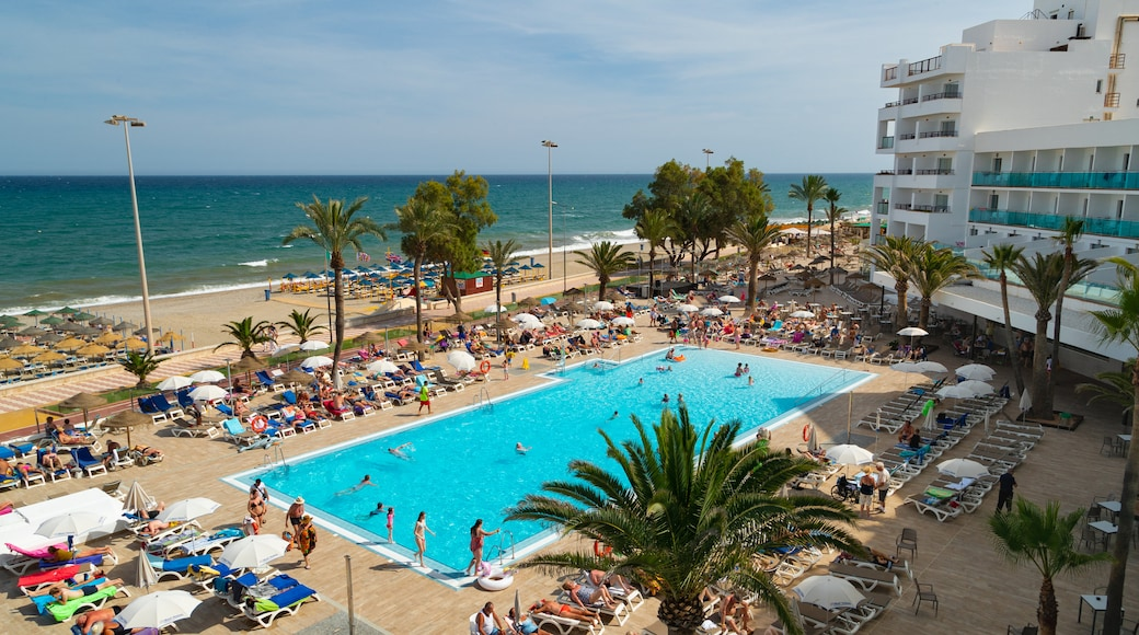 Playa Serena which includes general coastal views, a luxury hotel or resort and swimming