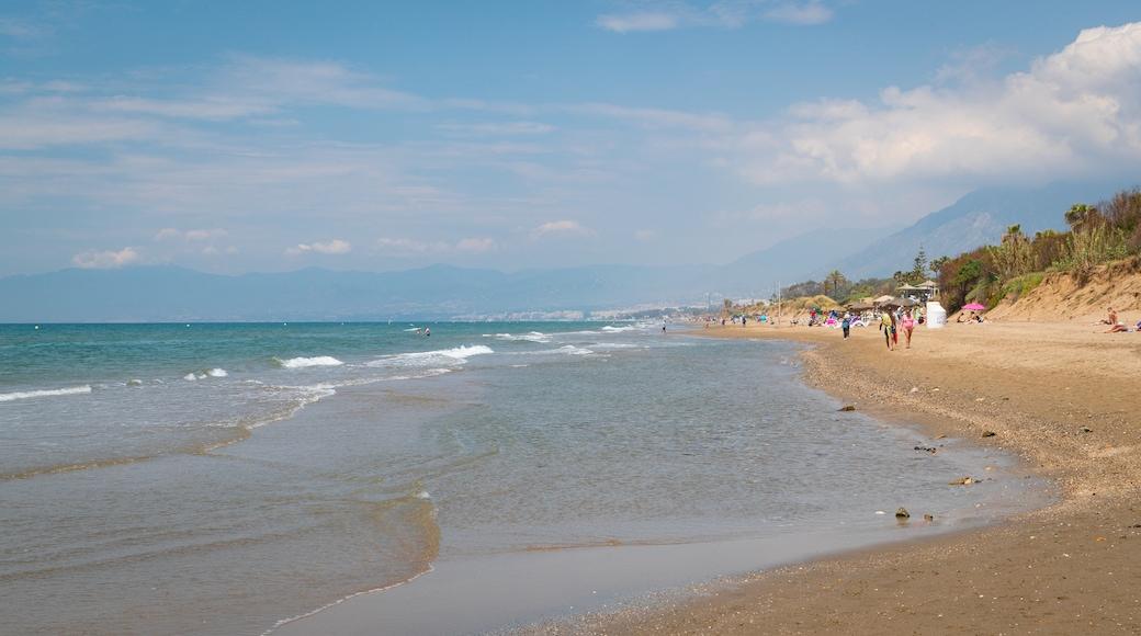 Nikki Beach featuring a beach and general coastal views