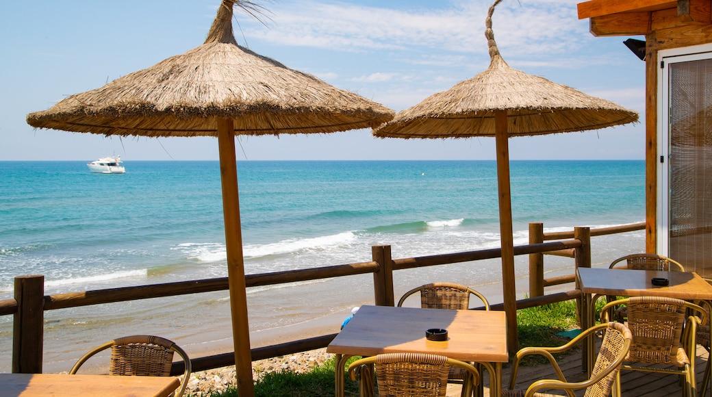Nikki Beach which includes general coastal views