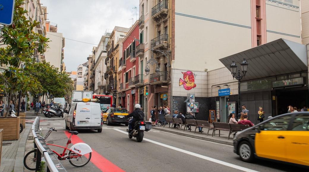 Gracia showing a city