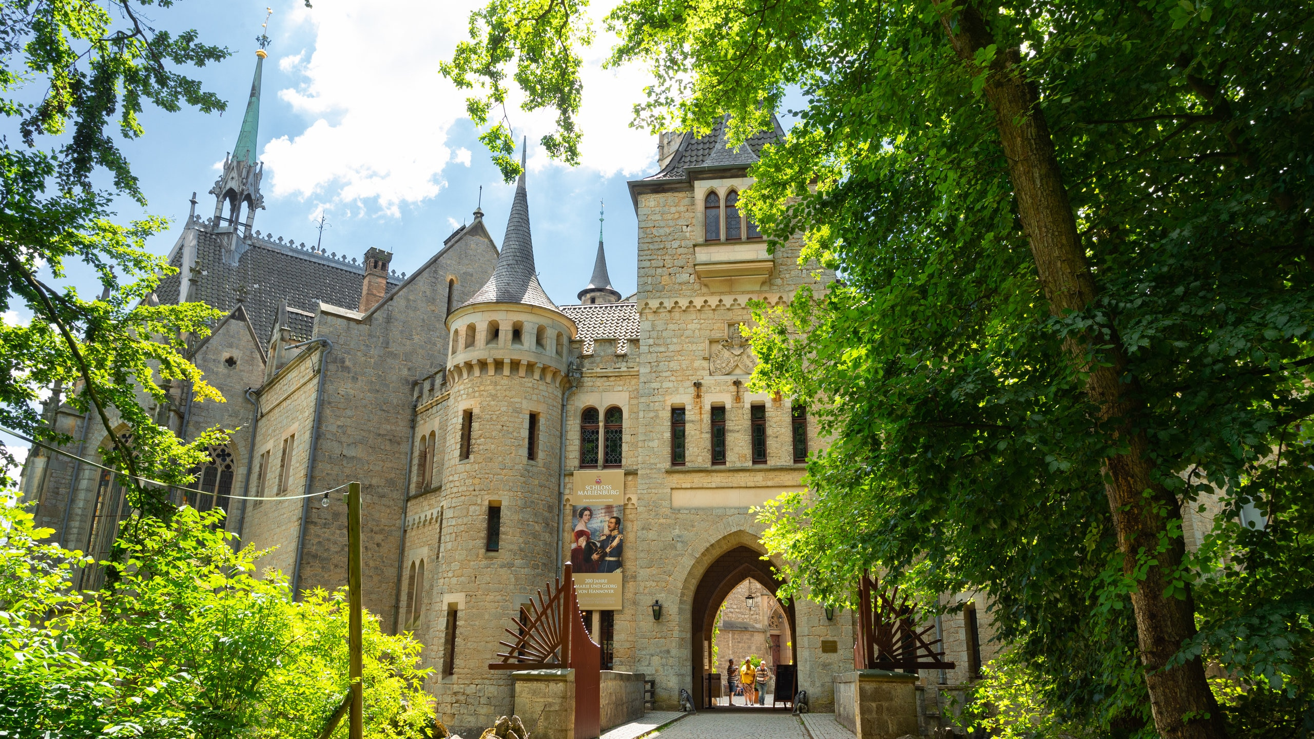 You can learn about the history of Pattensen with a trip to Marienburg Castle. Make time to visit the spas and churches while you're in the area.