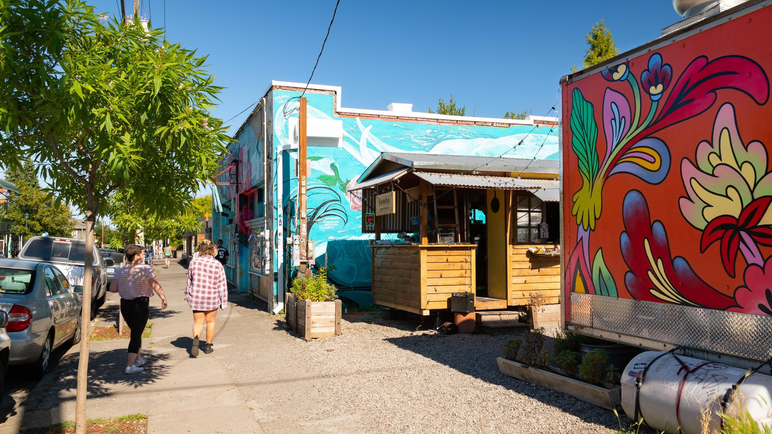Alberta Arts District, Concordia, Oregon, United States of America