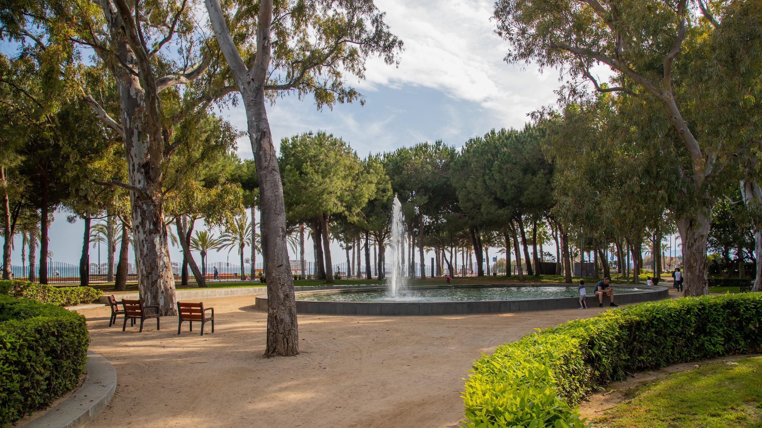 Parc del Pescador, Cambrils, Catalonië, Spanje