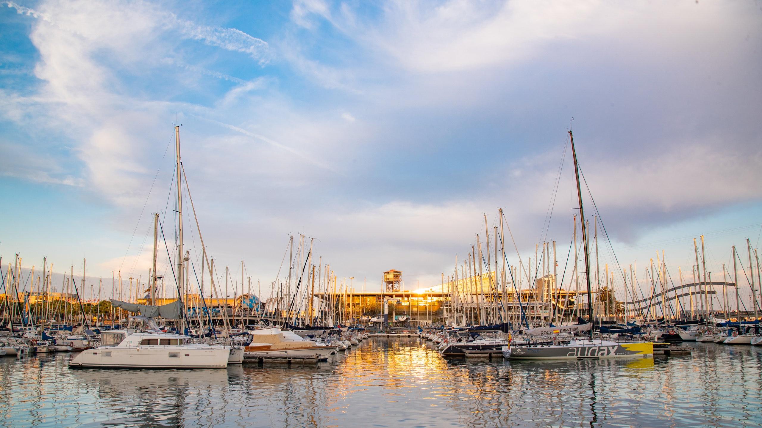 Port Vell, Barcelona, Katalonien, Spanien