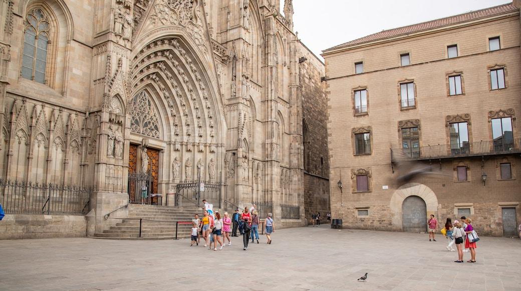 Cathédrale Sainte-Eulalie de Barcelone