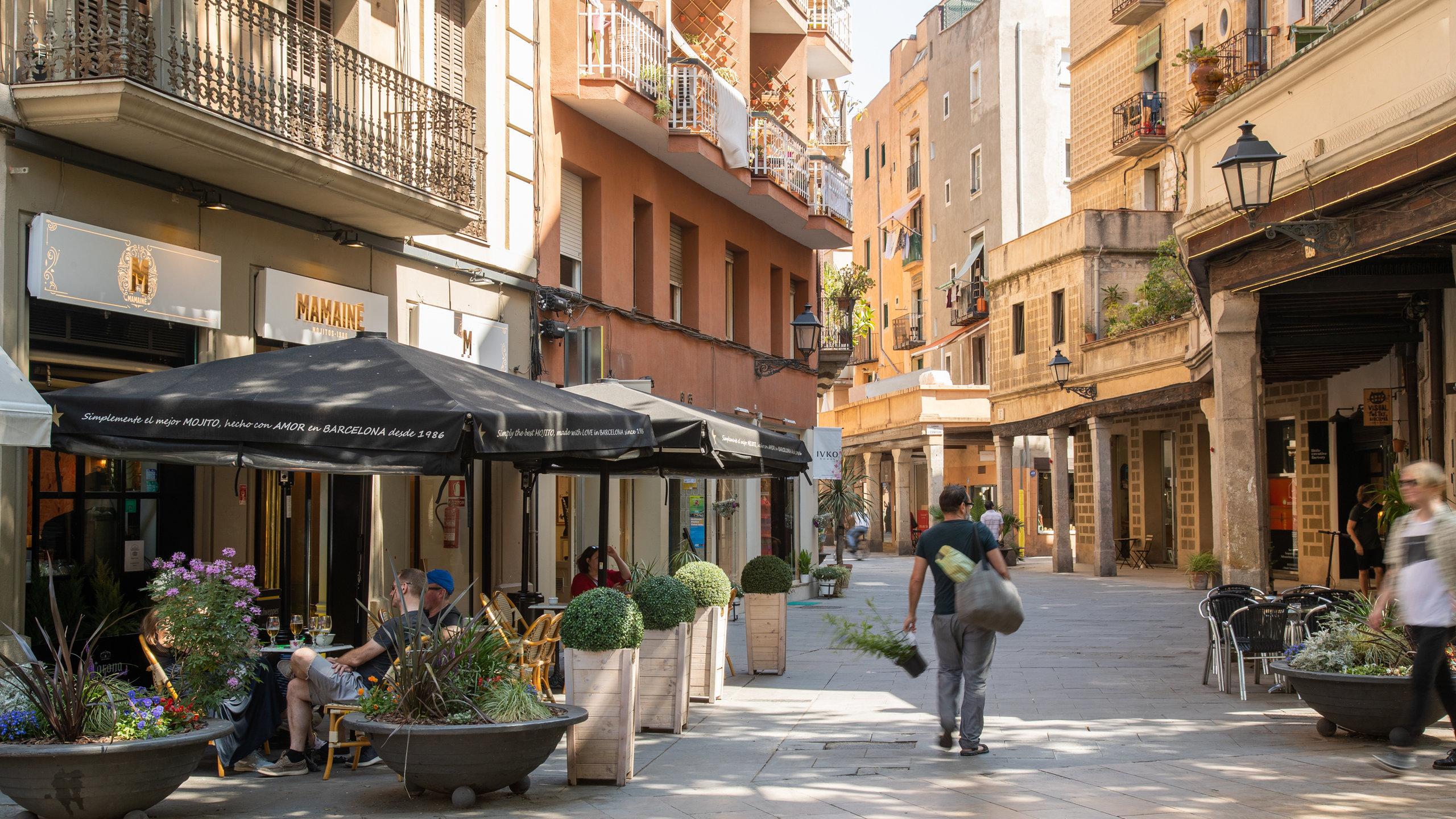 La Ribera, Barcelona, Katalonien, Spanien