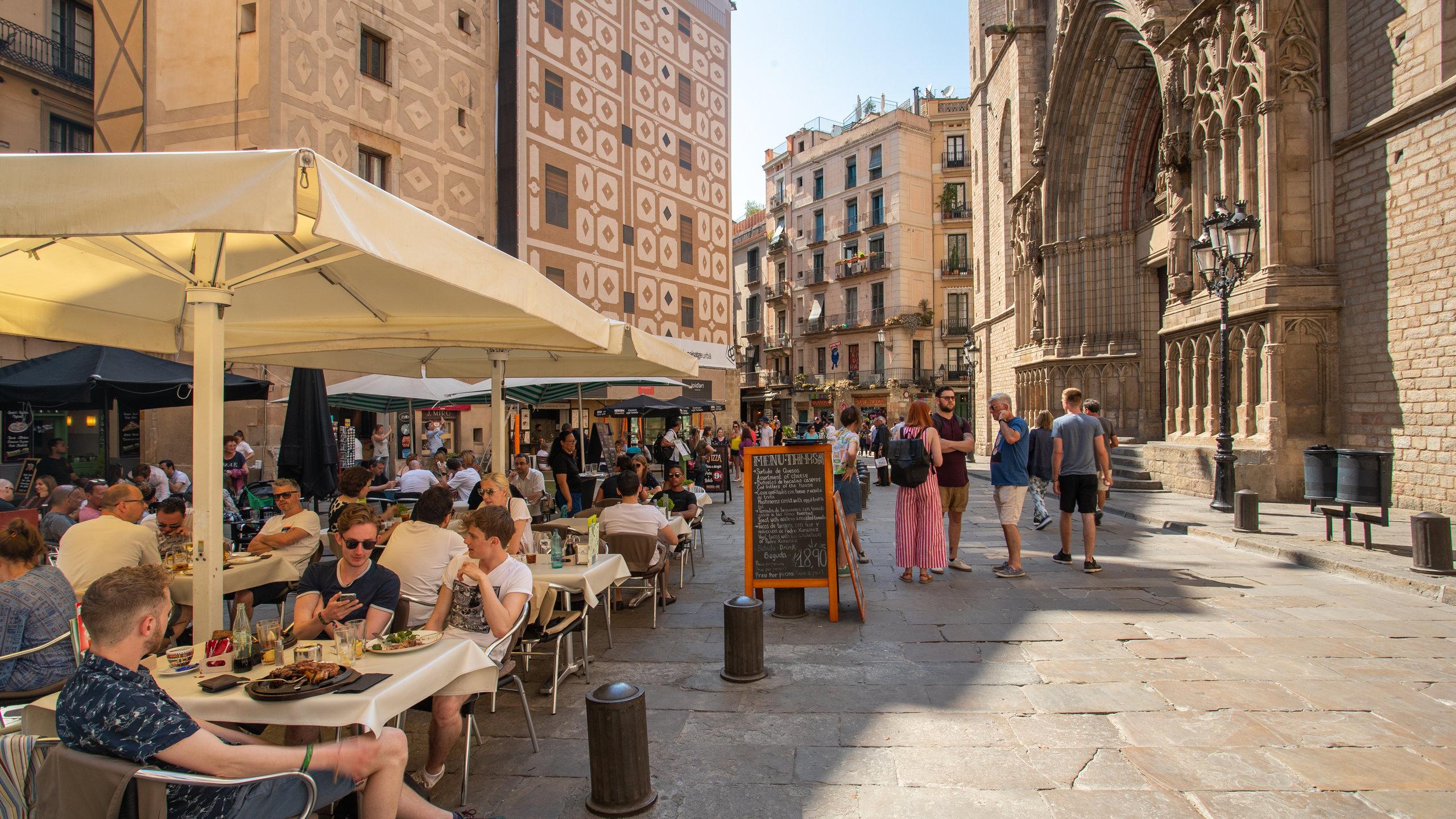 El Born, Barcelona, Katalonien, Spanien