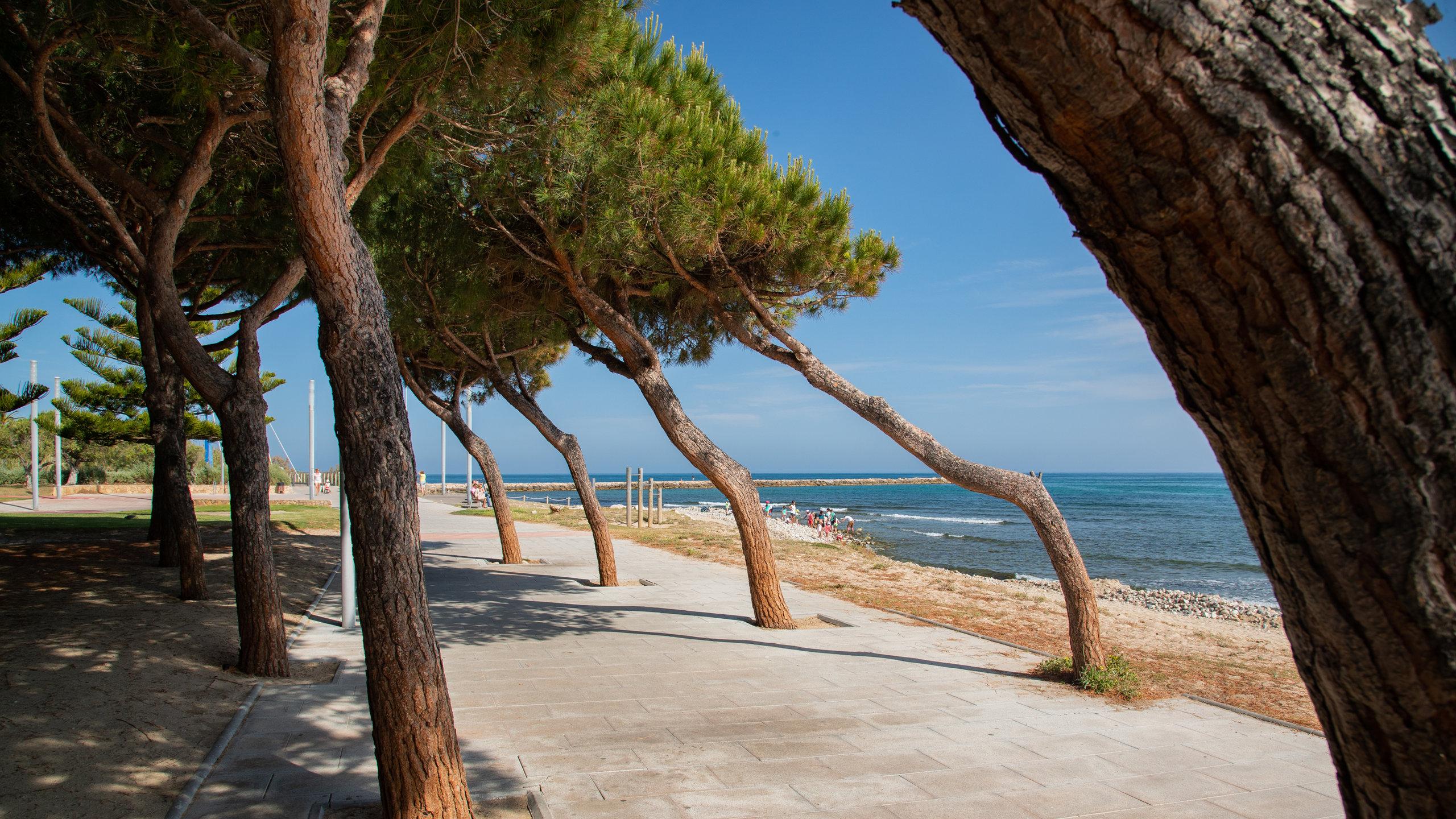 Strand von Cambrils, Cambrils, Katalonien, Spanien