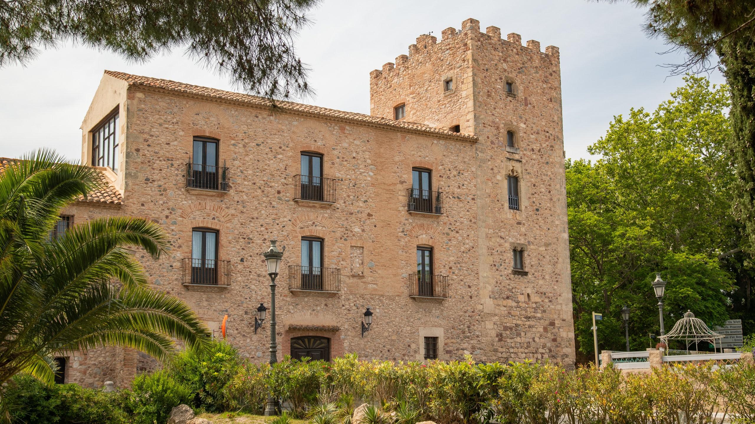 Castillo de Vilafortuny, Cambrils, Katalonien, Spanien